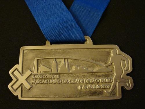 05/04/2009 - X Meia Maratona Internacional Corpore Açúcar União - 5,5 km