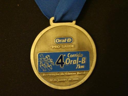 18/01/2009 - 4ª Corrida Oral-B - 7 km