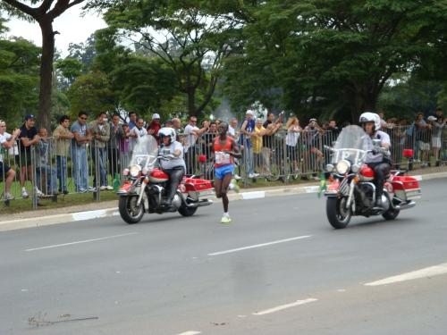 Elias Kemboi Chelimo - Campeão da Maratona de São Paulo.