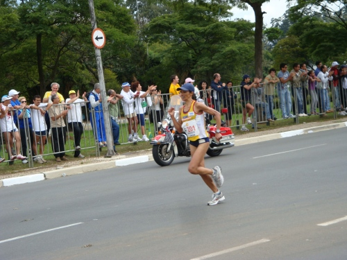 Marizete Moreira dos Santos - Campeã da Maratona de São Paulo.