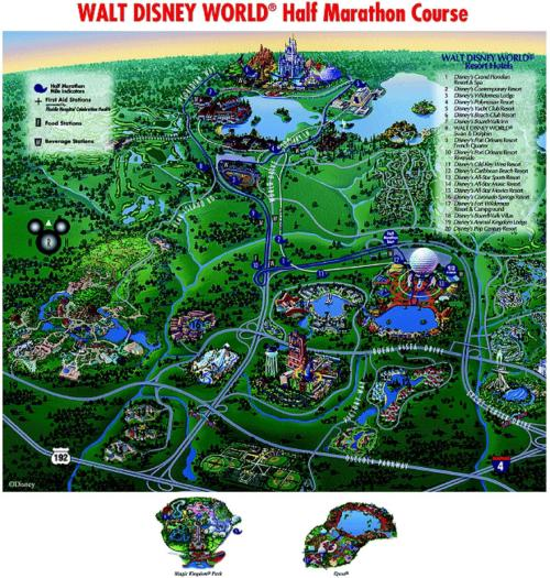 DisneyHalfMarathonCourseMap